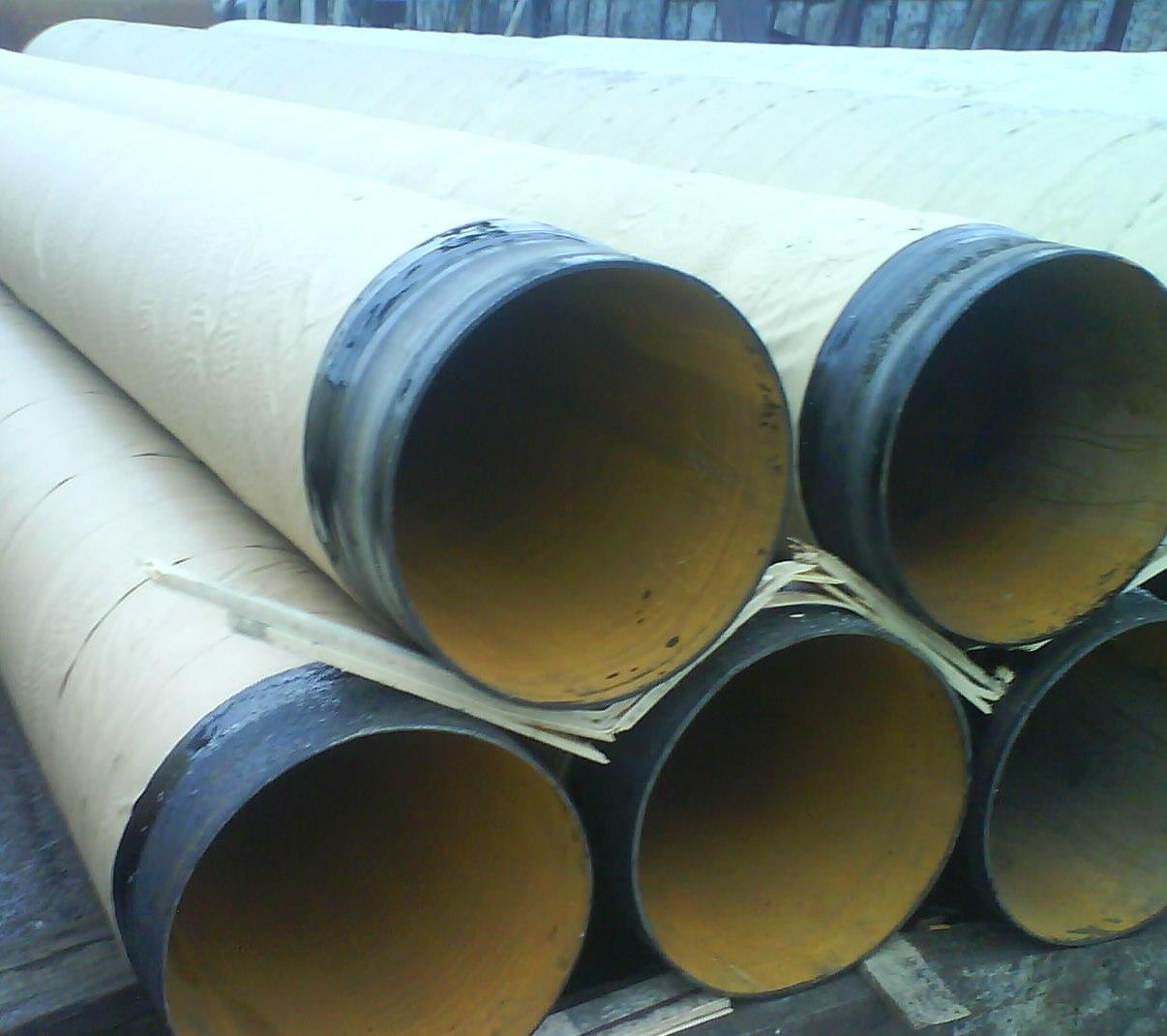Труба стальная в изоляции ВУС ТИП5 битумномастичная для подземной прокладки