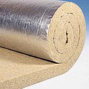 Маты с покрытием алюминиевой бумагой усиленной стекловолокнистой сеткой.