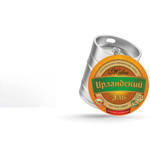 Пиво светлое «Ирландский Эль»