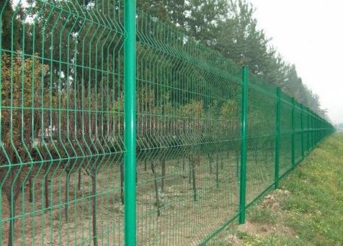 Забор з сетки
