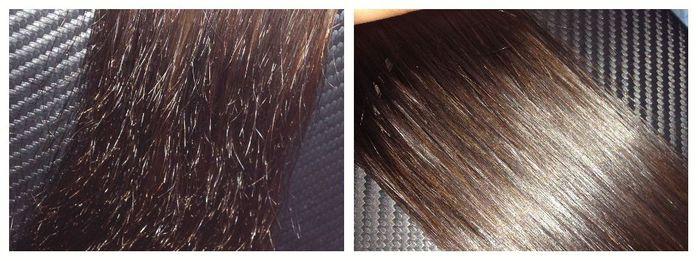Секущие волосы лечение