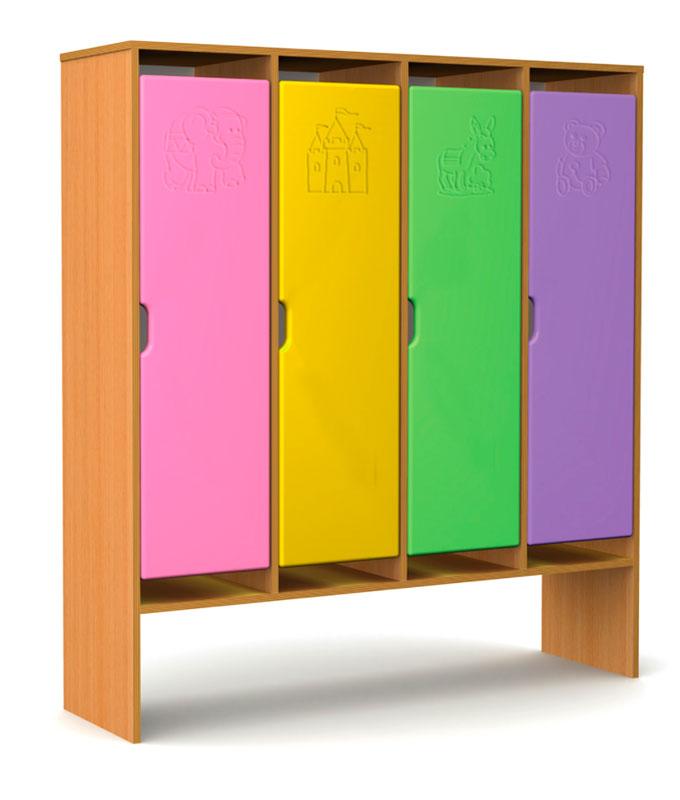 Шкафчик для детского сада: создаем интерьер для самых маленьких