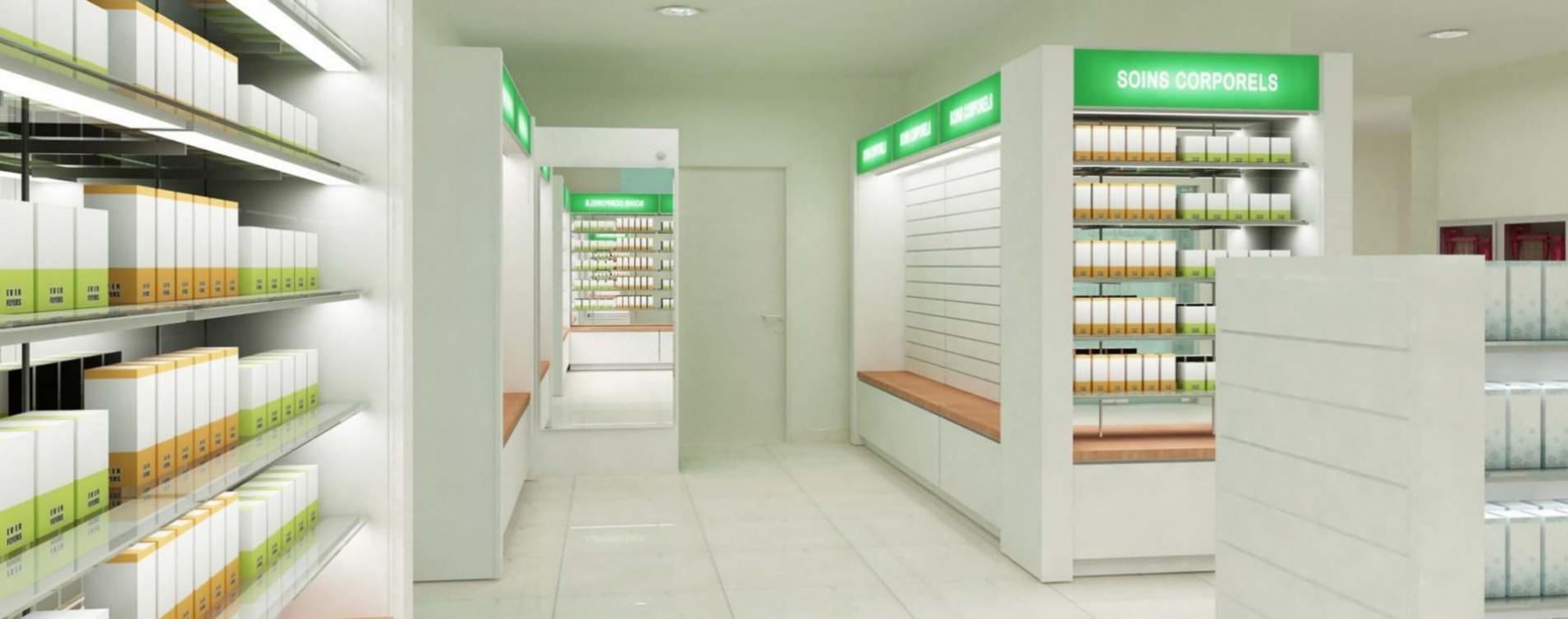 Мебель для аптек и аптечных пунктов
