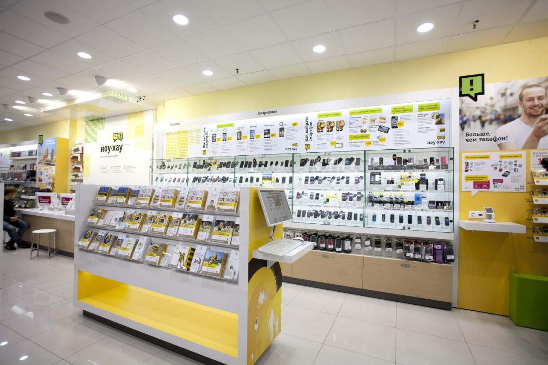 Мебель для магазина телефонов и аксессуаров