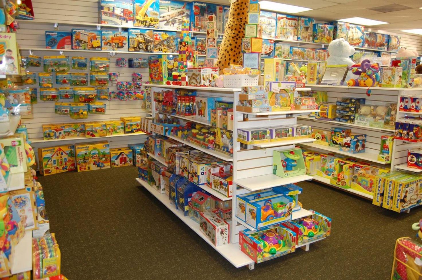 Мебель для магазина детских товаров и игрушек