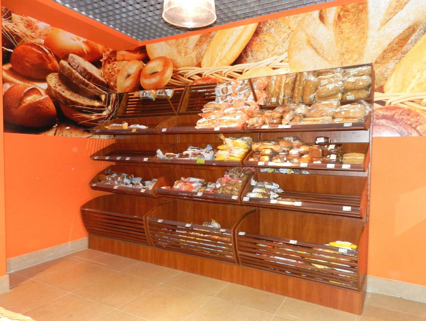 Мебель для магазина кондитерских изделий