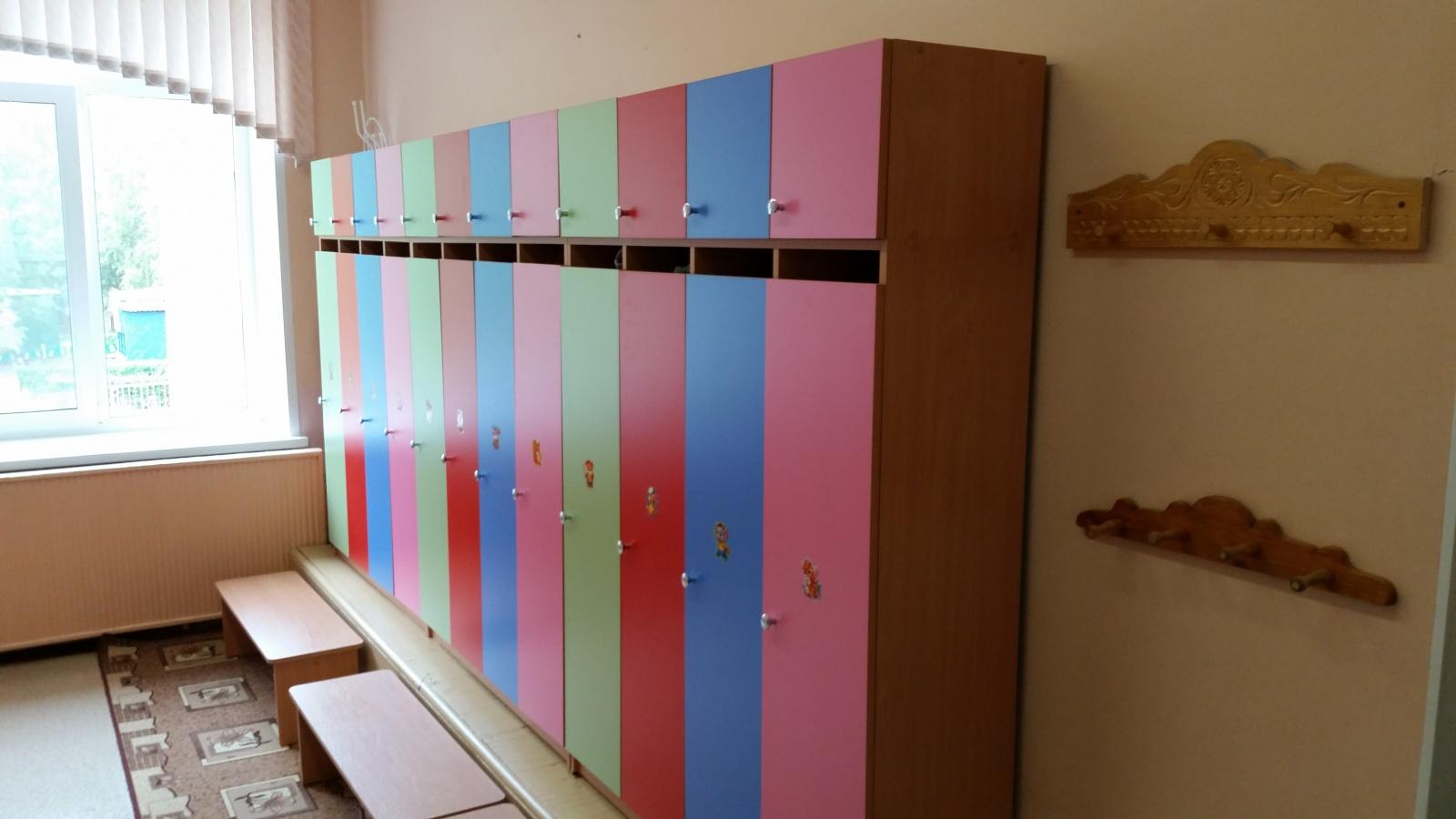 Шкафчики в раздевалку