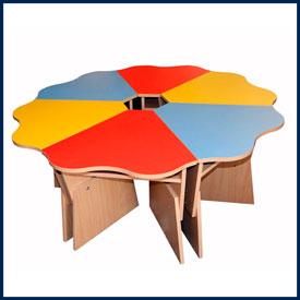 Детские столы для детских садов: обеденные, игровые, для творчества и занятий