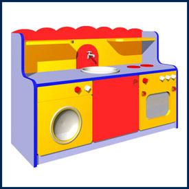 Игровая мебель для детского сада и игровых комнат