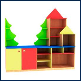 Детские стенки для детских садов, ДОУ, ДОЛ, школ