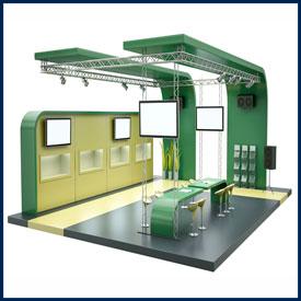 Выставочная мебель и оборудование под заказ