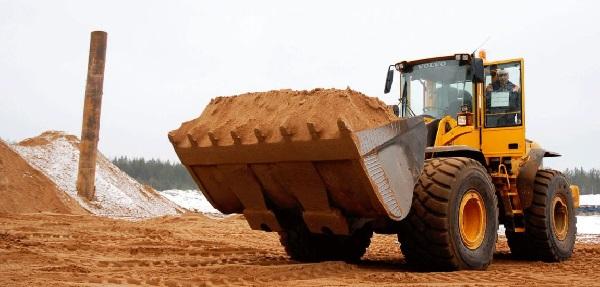 Песок для строительства купить